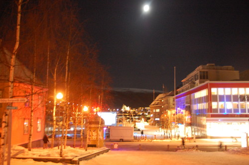 TIFF 2014: Torget i Tromsø onsdag 15.1.14 ca kl 20