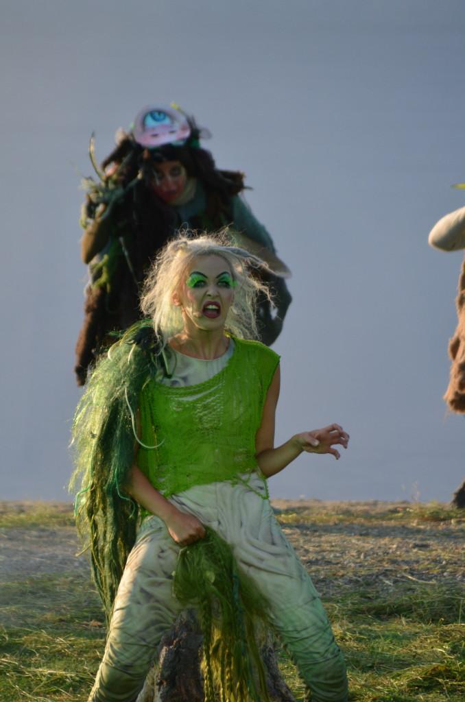 PG 2014 Den Grønnkledde (Marie Blokhus) 'noe gruerlig stygt' (ved Gålåvannet 06.08.14)