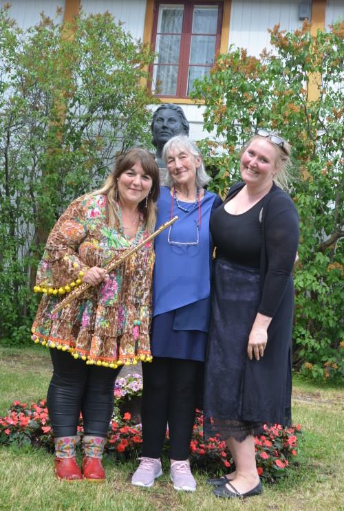 KFF 17.6.18  Anna Noakes, Biddy Noakes og Annika Åsen